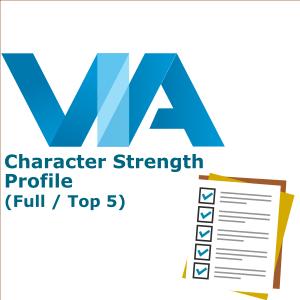 VIA 品格強項分析